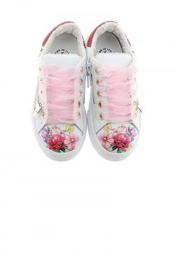 Monnalisa Sneaker Flowers Dream