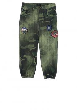 Monnalisa Cargohose mit Patches