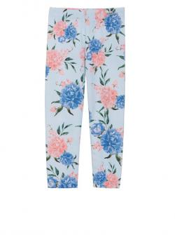 Patachou Leggings blue flower