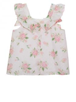 Patachou Top, Bluse Flower