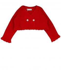 Wedoble Bolero, Strickjacke rot