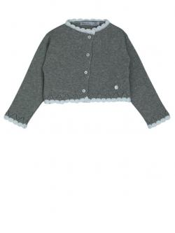 Patachou Cardigan, Strickjacke grau